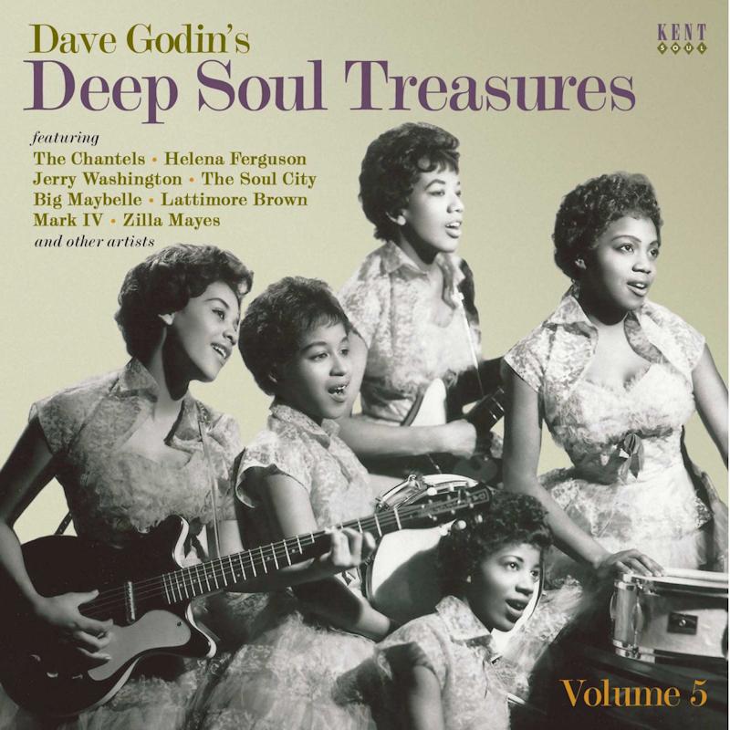 Dave Godin's Deep Soul Treasures Vol 5